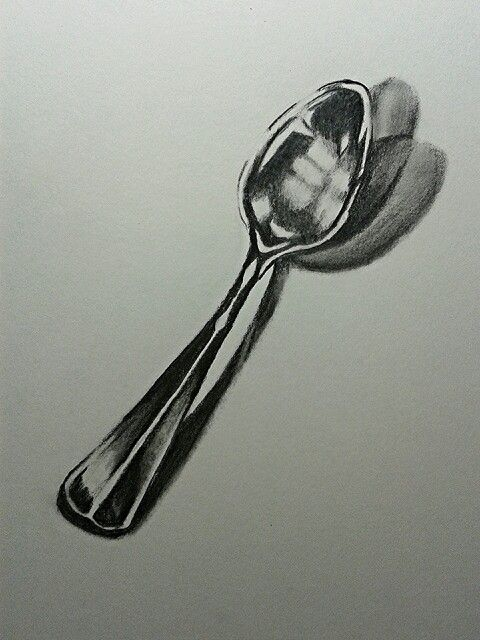 Drawn spoon Spoon (by Best Espinosa) Cari