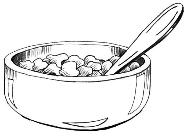 Drawn spoon cereal Folder Image Library Download NIDDK
