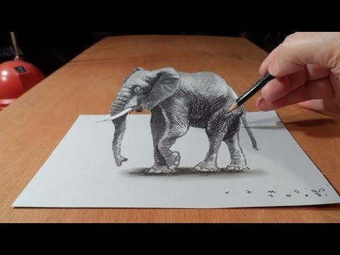 Drawn 3d art 3d animation #1