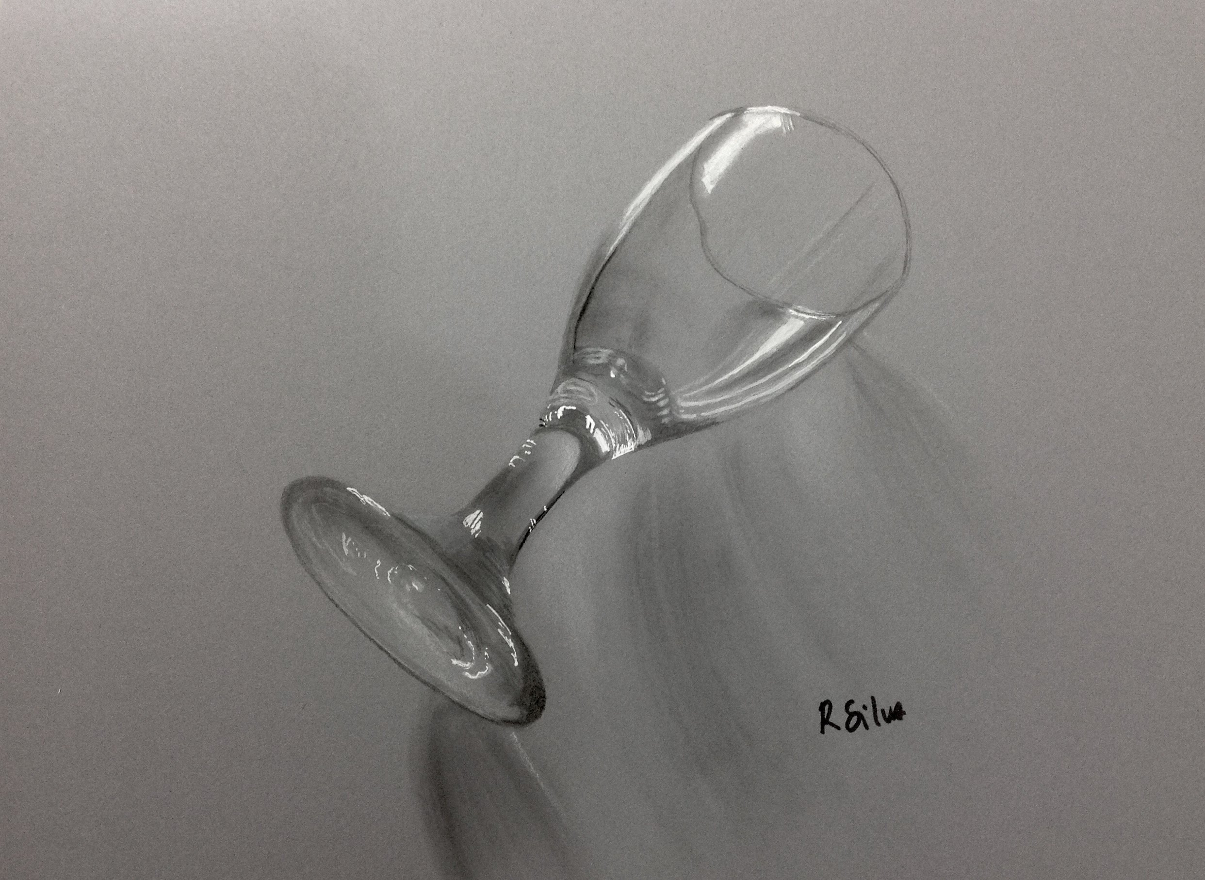 Drawn glasses realistic A to Glass YouTube Draw