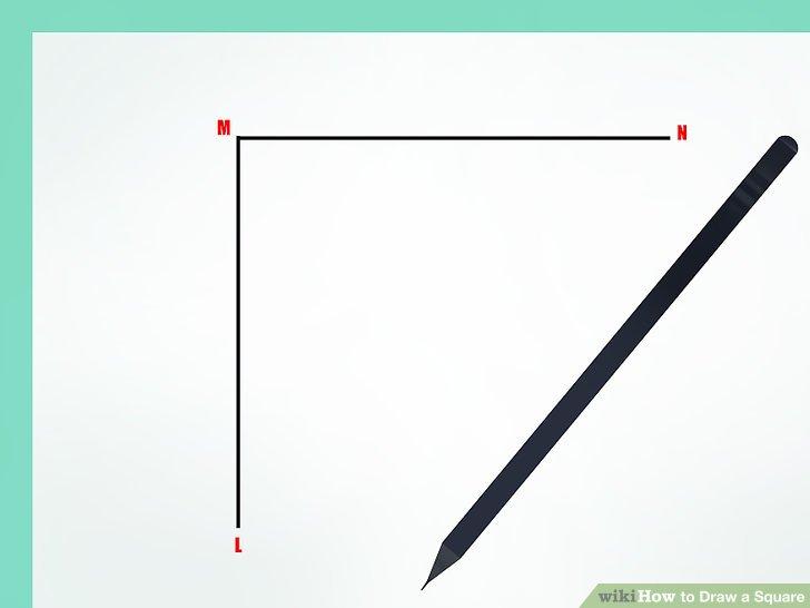 Drawn square six Square Image Square: to Draw