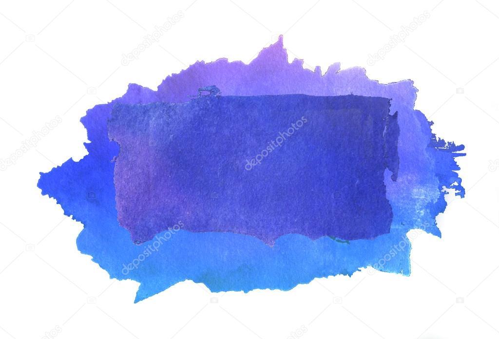Drawn square watercolor Square drawn Photo Gradient hand
