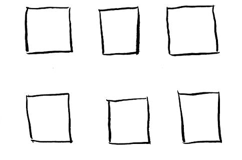 Drawn square Squares Pictures Car Car Drawing