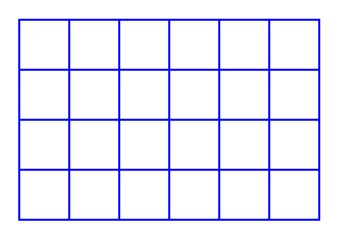 Drawn squares The the the of most