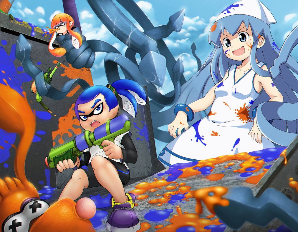 Drawn squid anime Till Draw Release by by