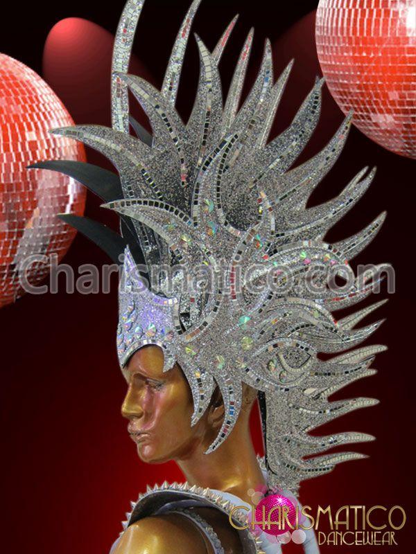 Drawn squid diva helmet Diva's Roman mirror styled Roman