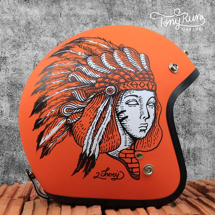 Drawn squid diva helmet Painting Motorcycle Behance Collection Helmets