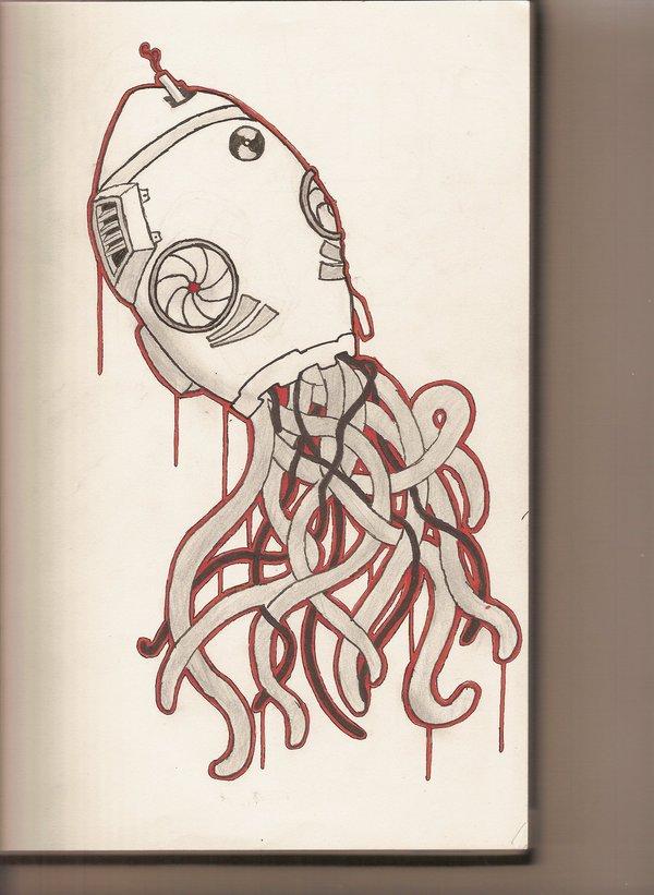 Drawn squid graffiti Squid drawing DeviantArt on original
