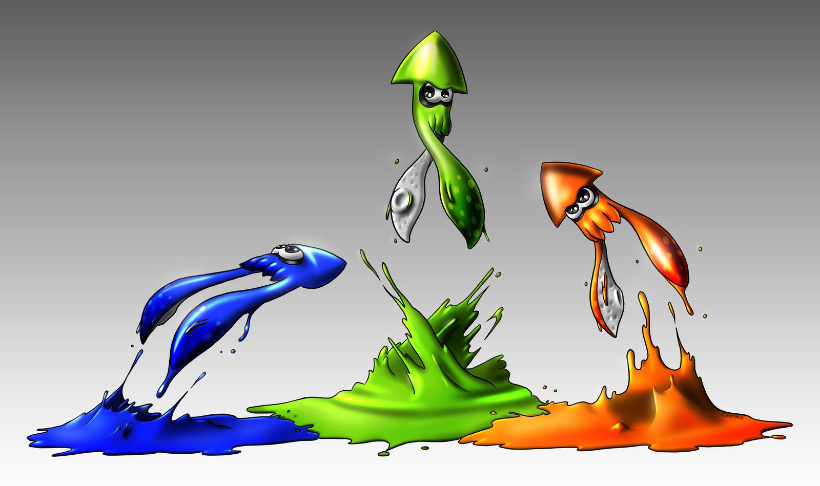 Drawn squid splatoon On TheKid221 Splatoon by DeviantArt