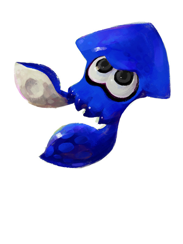 Drawn squid splatoon Donan Draw by Blue Redbubble