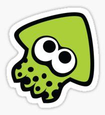 Drawn squid splatoon Drawing: Stickers Splatoon squid Sticker