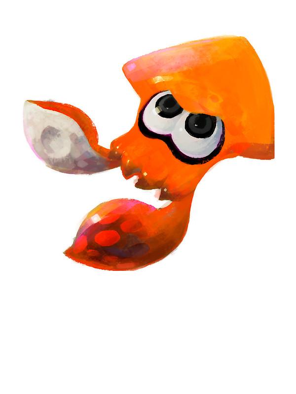 Drawn squid splatoon Donan Draw by Orange Redbubble