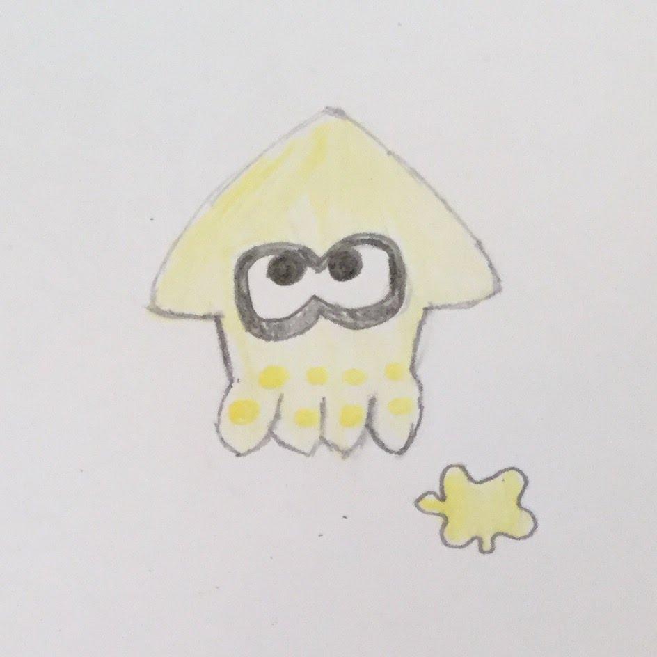 Drawn squid splatoon Splatoon Draw A YouTube To