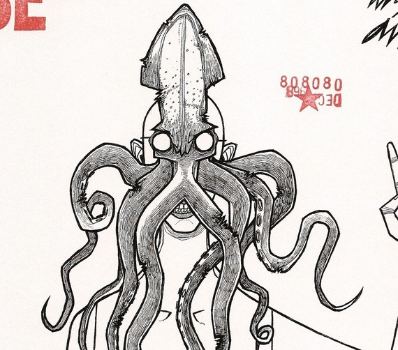 Drawn squid squid monster Similar Squid Items animal anthropomorphic