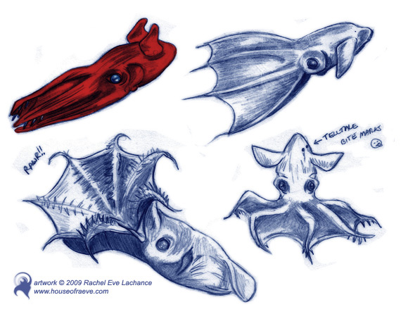 Drawn squid vampire squid Drawing from drawing Squid Hell