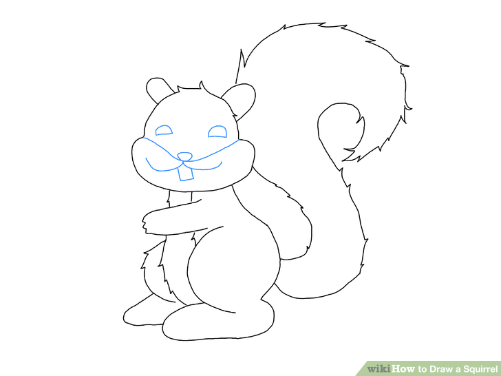 Drawn squirrel Titled Ways a Pictures) wikiHow