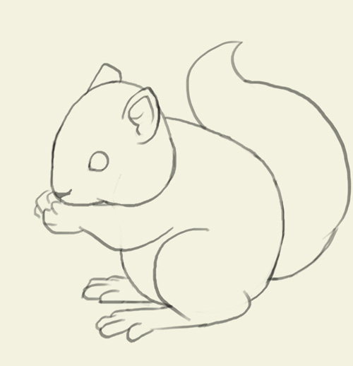 Drawn rodent simple Learn draw a bunny step