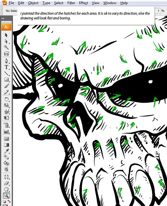Drawn ssckull adobe illustrator Vector details How Skulls Illustrator