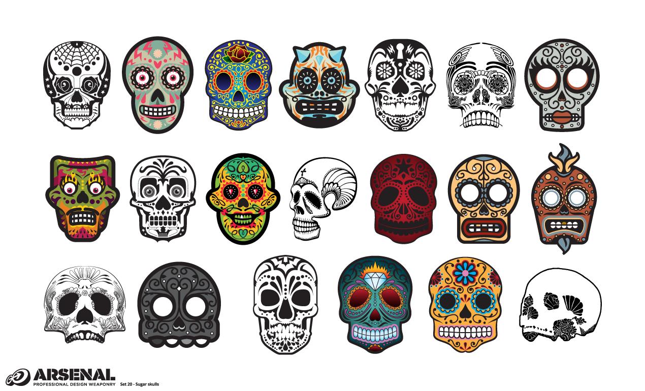Drawn ssckull adobe illustrator Skull 20 Skull Sugar Candy
