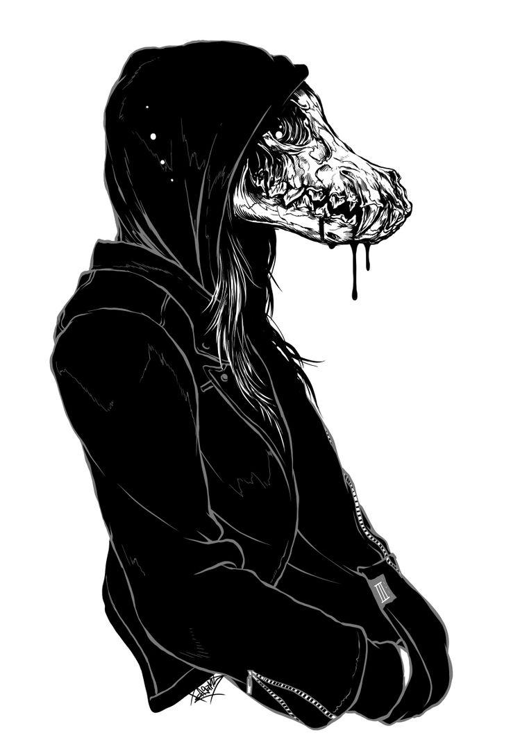 Drawn skull anime Photo a of bum :
