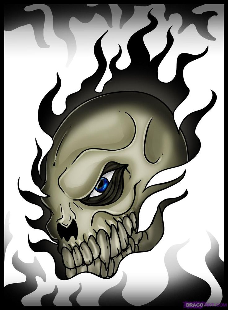 Drawn ssckull awesome On drawings cool Skull skull