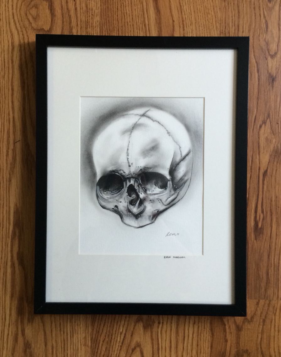 Drawn ssckull baby Ca skull drawing Graphite BC