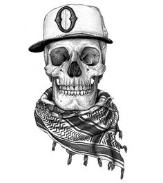 Drawn ssckull baby BAD hat  TO drawing