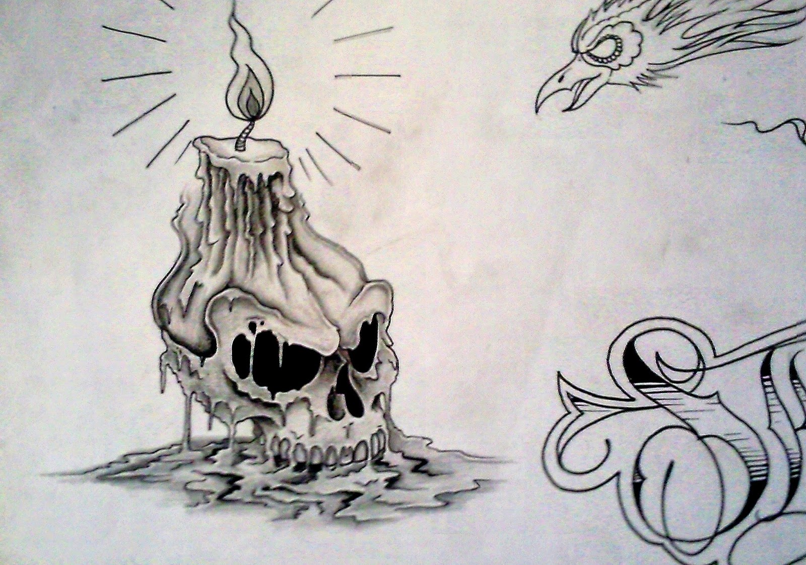 Drawn skull candle Photos All  to Skull