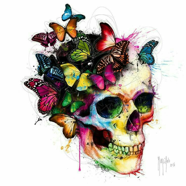 Drawn skull color Pinterest 25+ ideas Skull best
