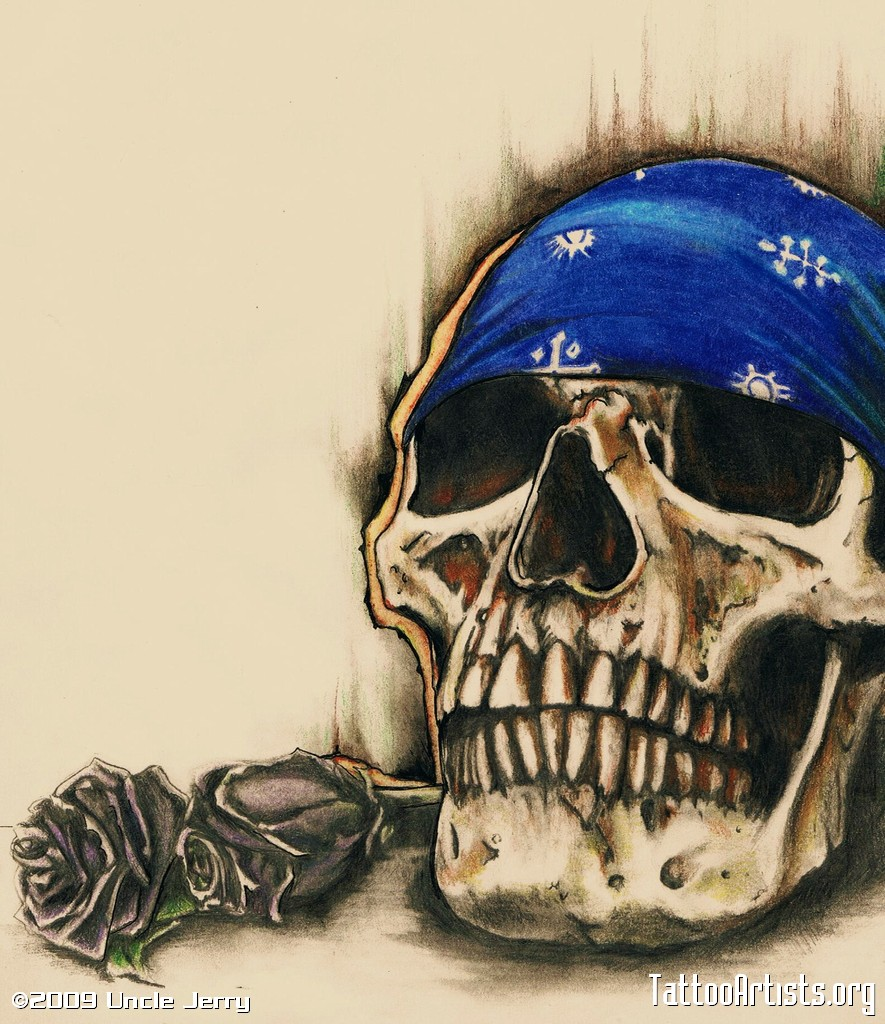 Drawn skull color Cholos dibujos Google de Google