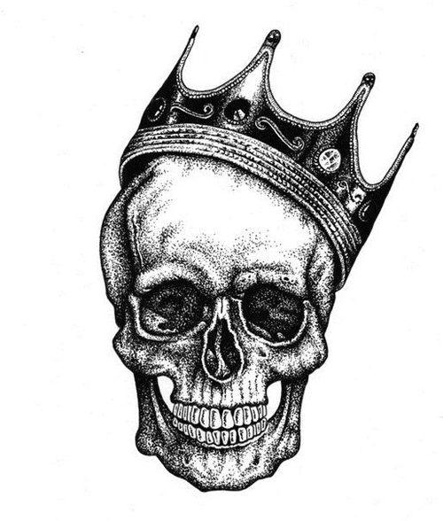 Drawn skull crown drawing And 76394 Drawings Skulls Crowns