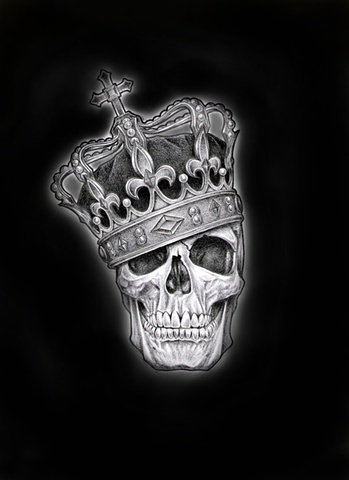 Drawn skull crown drawing With Images Pinterest Drawing Top