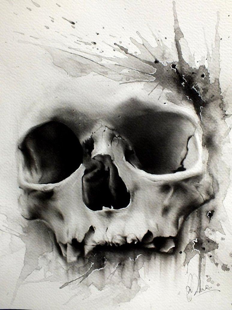 Drawn skull designer Preece Glen design by Skull