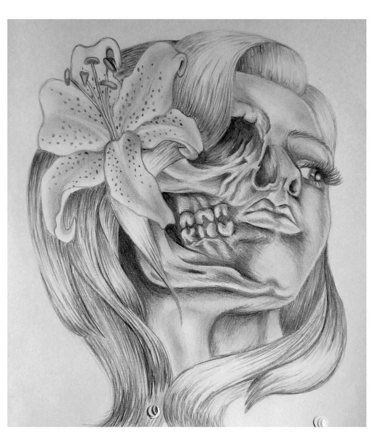 Drawn skull female skull Skull deviantART on Skull 25+