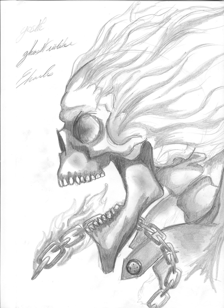Drawn skull ghost By ghost ghost ghost Theducksarespies
