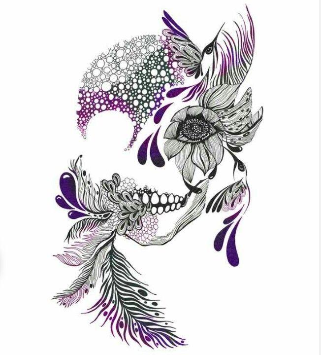 Drawn ssckull girly skull On Skull Pinterest 127 Skull