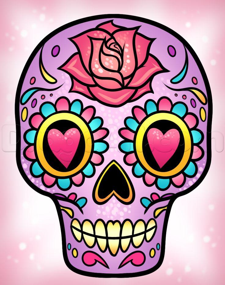 Drawn ssckull girly skull 20+ ideas to Easy a