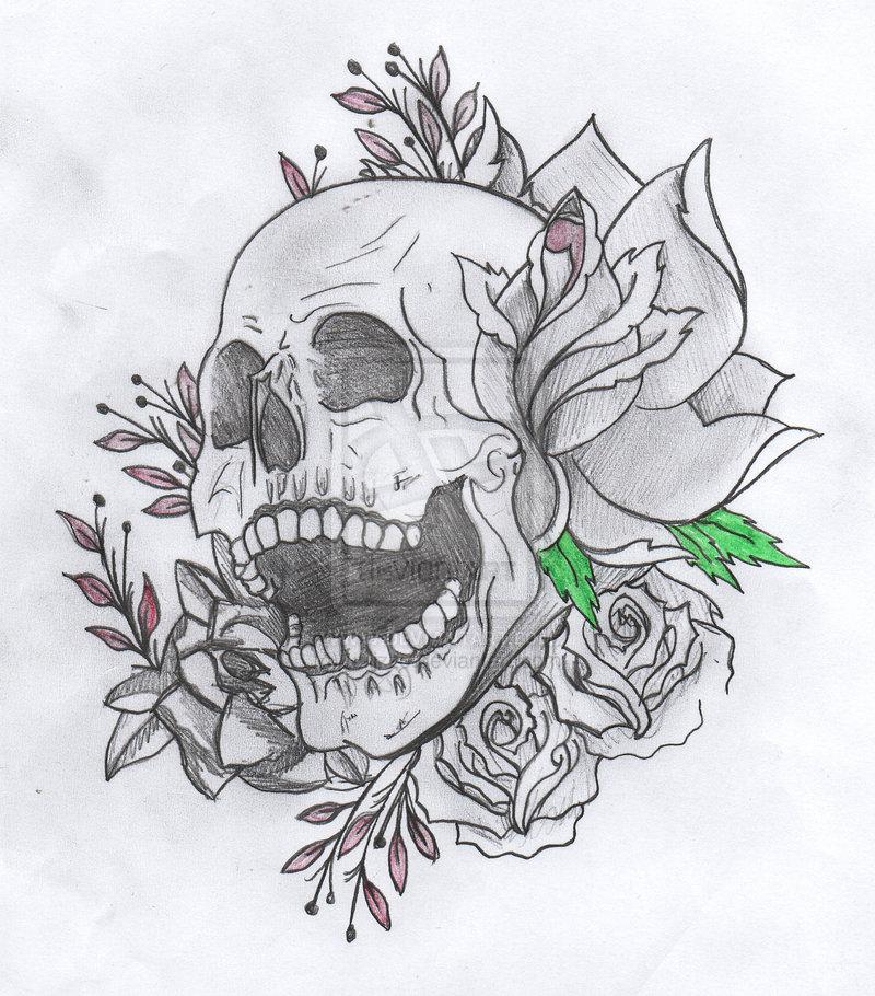 Drawn skull gothic skull Drawings  Skull Drawings utilizzo