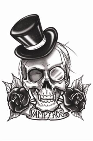 Drawn skull gothic skull Grey  Design Banner Design