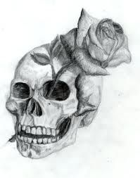 Drawn skull gothic skull 49 on skull images Skulls