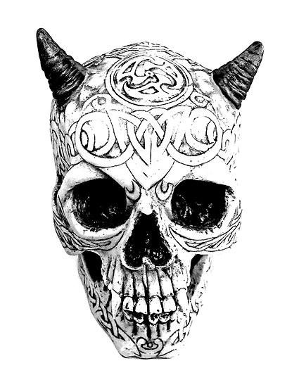 Drawn skull gothic skull Gothic Digital Drawings Skull Gothic
