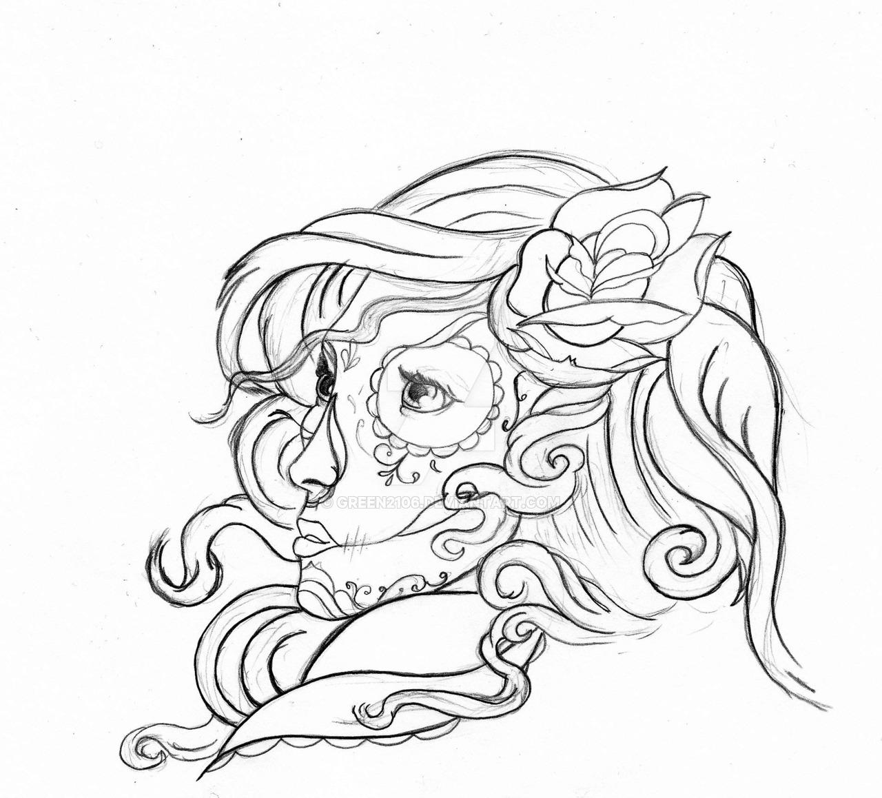 Drawn ssckull gypsy Candy Gypsy Skull Gypsy Real
