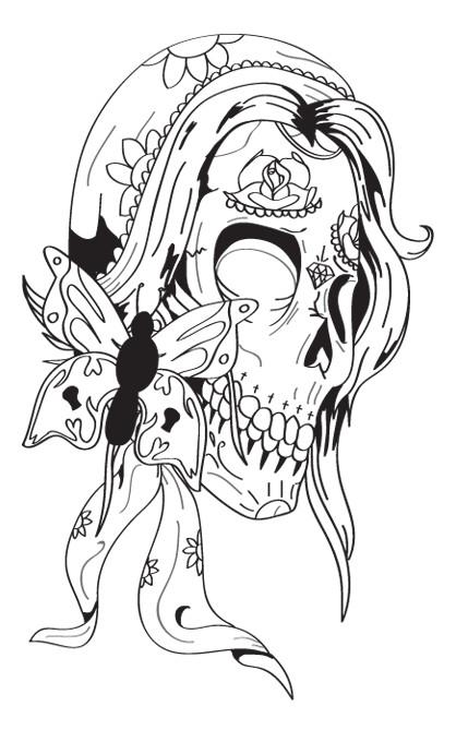 Drawn ssckull gypsy DeviantArt by skull Gypsy Gypsy