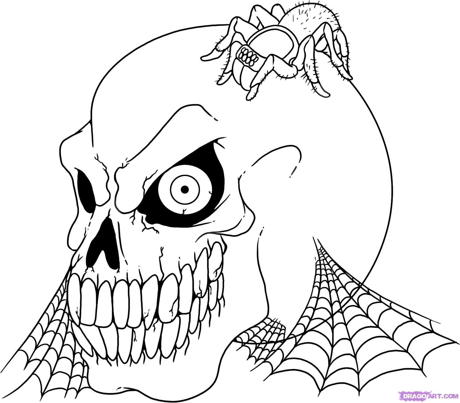 Drawn skeleton halloween Drawings  Cool Halloween Drawings