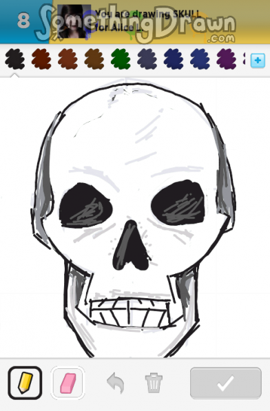 Drawn ssckull nose Com Jille SKULL Something SomethingDrawn