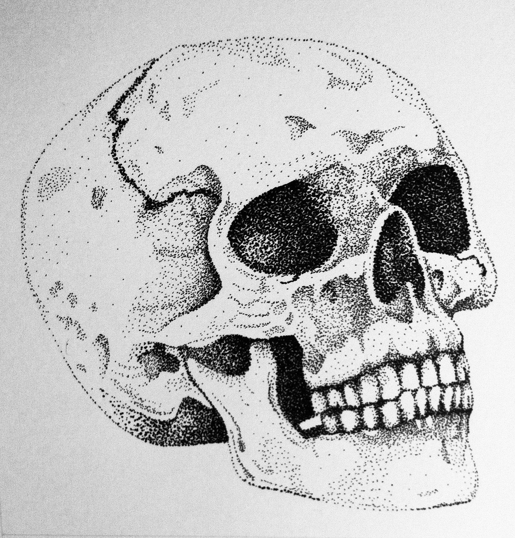 Drawn skull pinter Drawing  drawing Pinterest Art