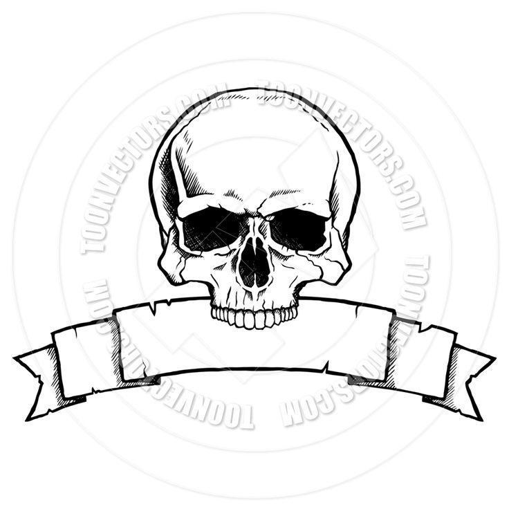 Drawn ssckull simple Skull skull Pinterest The on