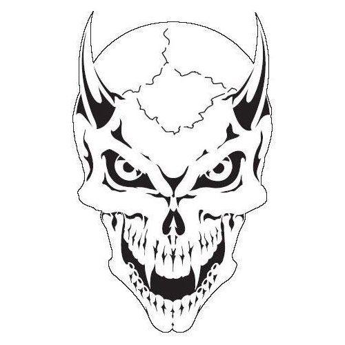 Drawn skeleton skull Head 218 Skull images Stencil