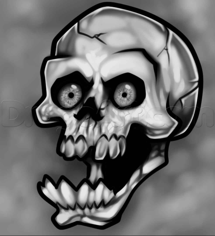 Drawn ssckull skeleton head Head to Skulls Pop Skull