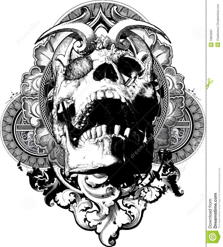 Drawn skull small Image images Related 96 Wolf